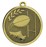 Bronze Galaxy Rugby Medal