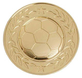 Gold Halo Heavy Weight Football Medal
