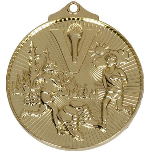 Gold Horizon Cross Country Running Medal