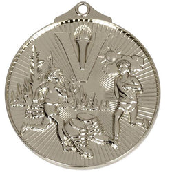 CROSS COUNTRY RUNNING MEDAL STORE Silver Horizon Cross Country Running Medal