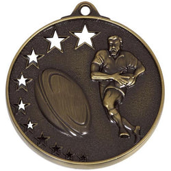 Bronze San Francisco Rugby Medal
