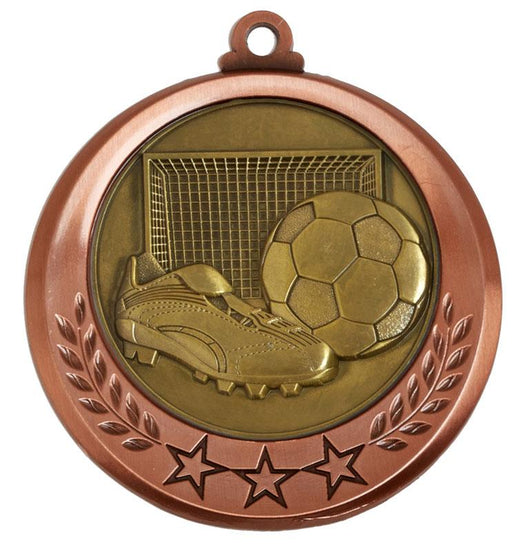 AM6030.27-M001 - Bronze Spectrum Football Medal