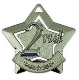 AM712 - Mini Star Silver 2nd Medal