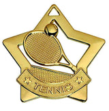 AM727G - Gold Mini Star Tennis Medal