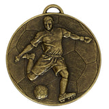Online football medal store - Bronze Football Helix Medal