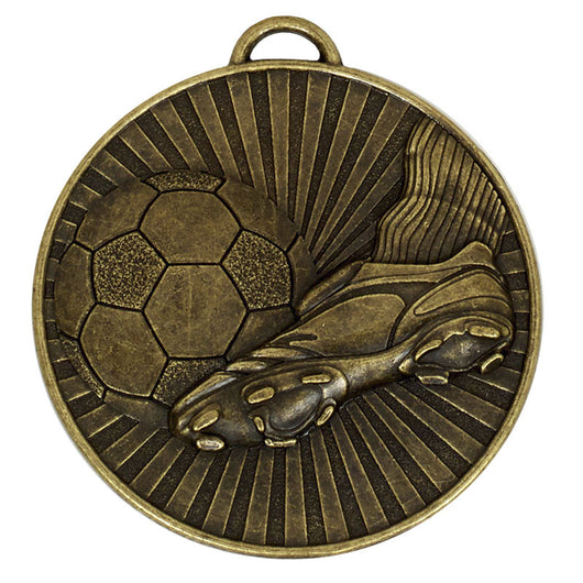CHEAP FOOTBALL MEDALS - Gold, silver & bronze medals