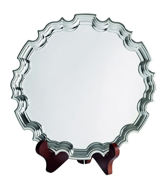 Chippendale silver plated tray by Broadway Trophies & Engraving