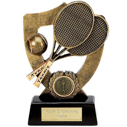 Celebration Shield Tennis Trophy