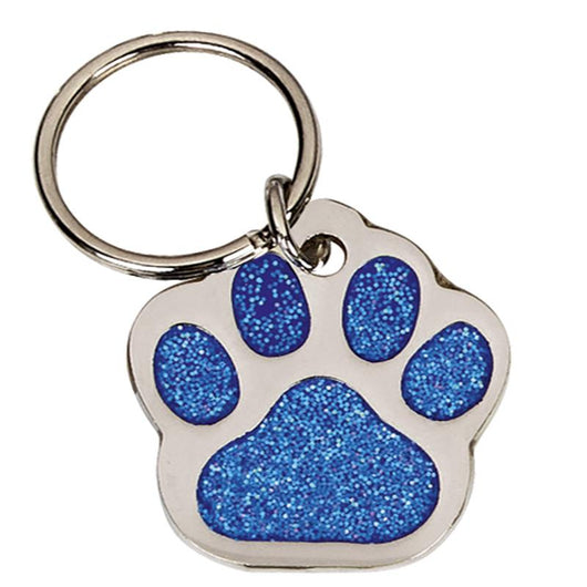 DT014 - Blue Paw Pet Tag 28mm