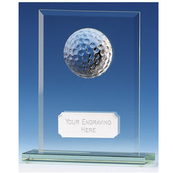 Golf Honour Glass Golf Trophy
