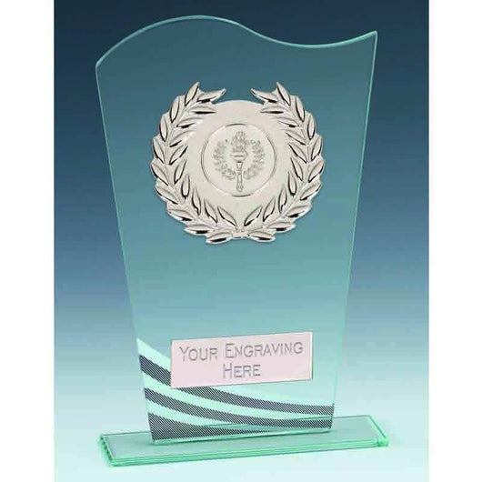 KB041 - Pennant Glass Award