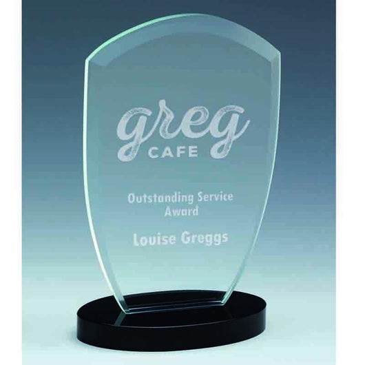 KJ018 - Oval Arch Glass Award
