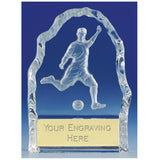 KK270 - Echo Glass Football Trophy