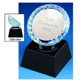 KM022 - St Porth Crystal Golf Trophy (2 Sizes)