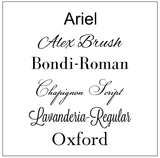 Glass Awards Fonts - Broadway Trophies & Engraving