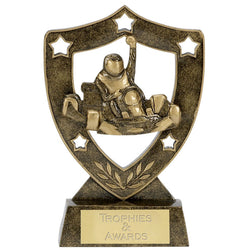 N01019 - Shield Star Go Karting Trophy