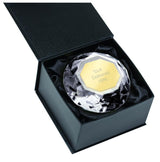 OK007 - Clear Diamond Glass Engraved Award (4 Sizes)