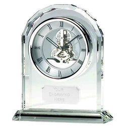 OK14P - Epoch Optical Crystal Presentation Clock (17cm)