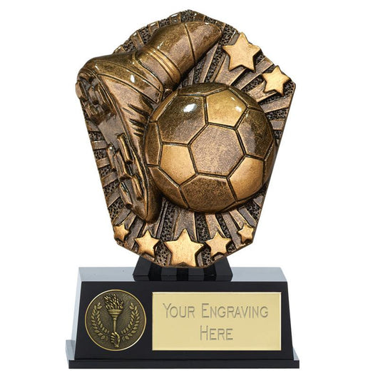 PK136 - Mini Cosmos Football Trophy