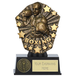 PK187 - Mini Cosmos Boxing Trophy (12.5cm)