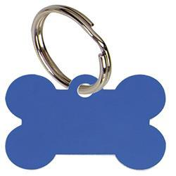 PT010BL - Blue Bone Pet Tag