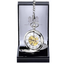 PW014SK - Double Full Hunter Pocket Watch
