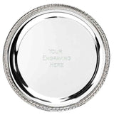 T041 - Sierra nickel plated salver (4 Sizes)