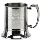TA001 - Vision Classic Polished Stainless Steel Tankard