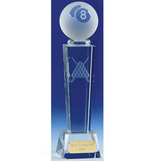 KK136 - Unite Glass Pool Trophy