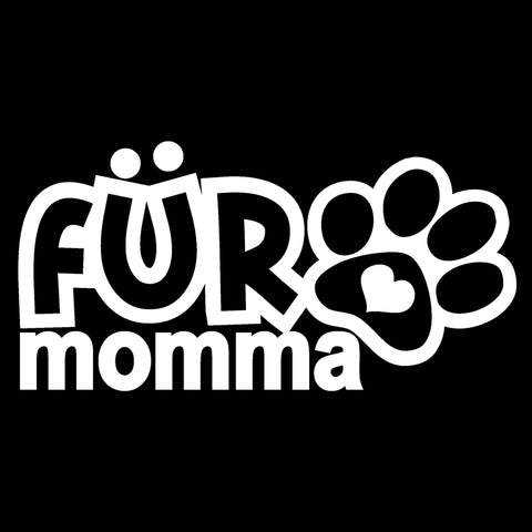 Fur Momma Vinyl Decal