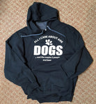 All I Care About Are Dogs And Like Maybe 3 People And Beer Hoodie