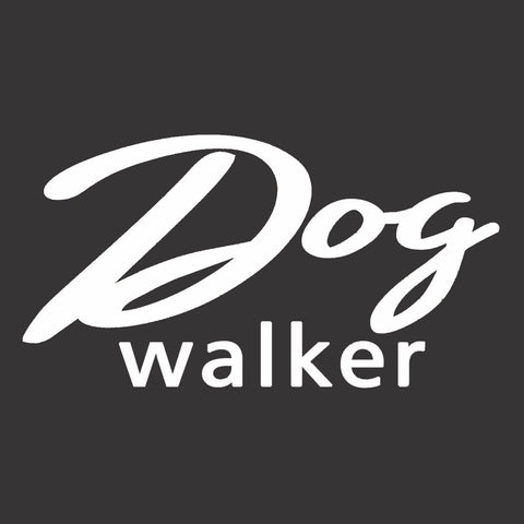 Dog Walker Vinyl Decal