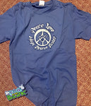 Peace Love Adopt Rescue Foster Tee