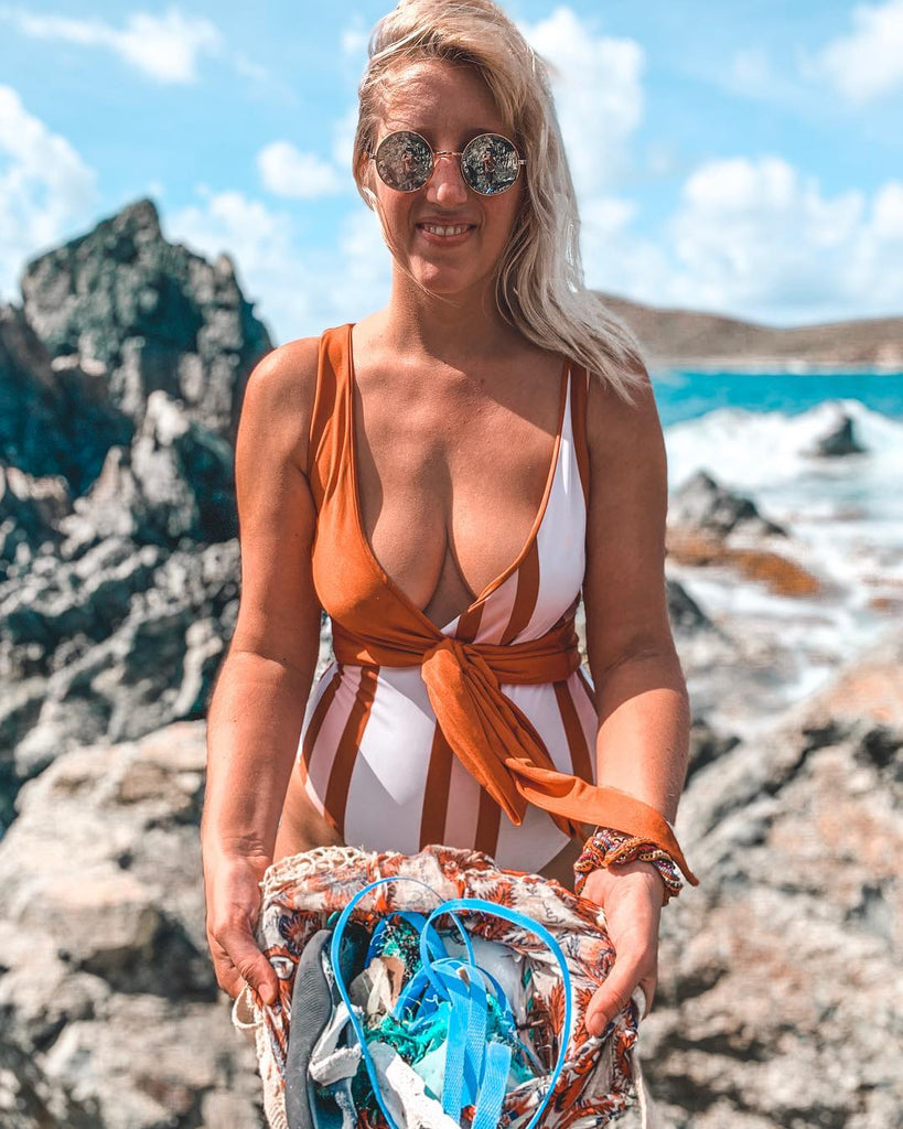 Baiia eco swimwear recycling plastic pollution