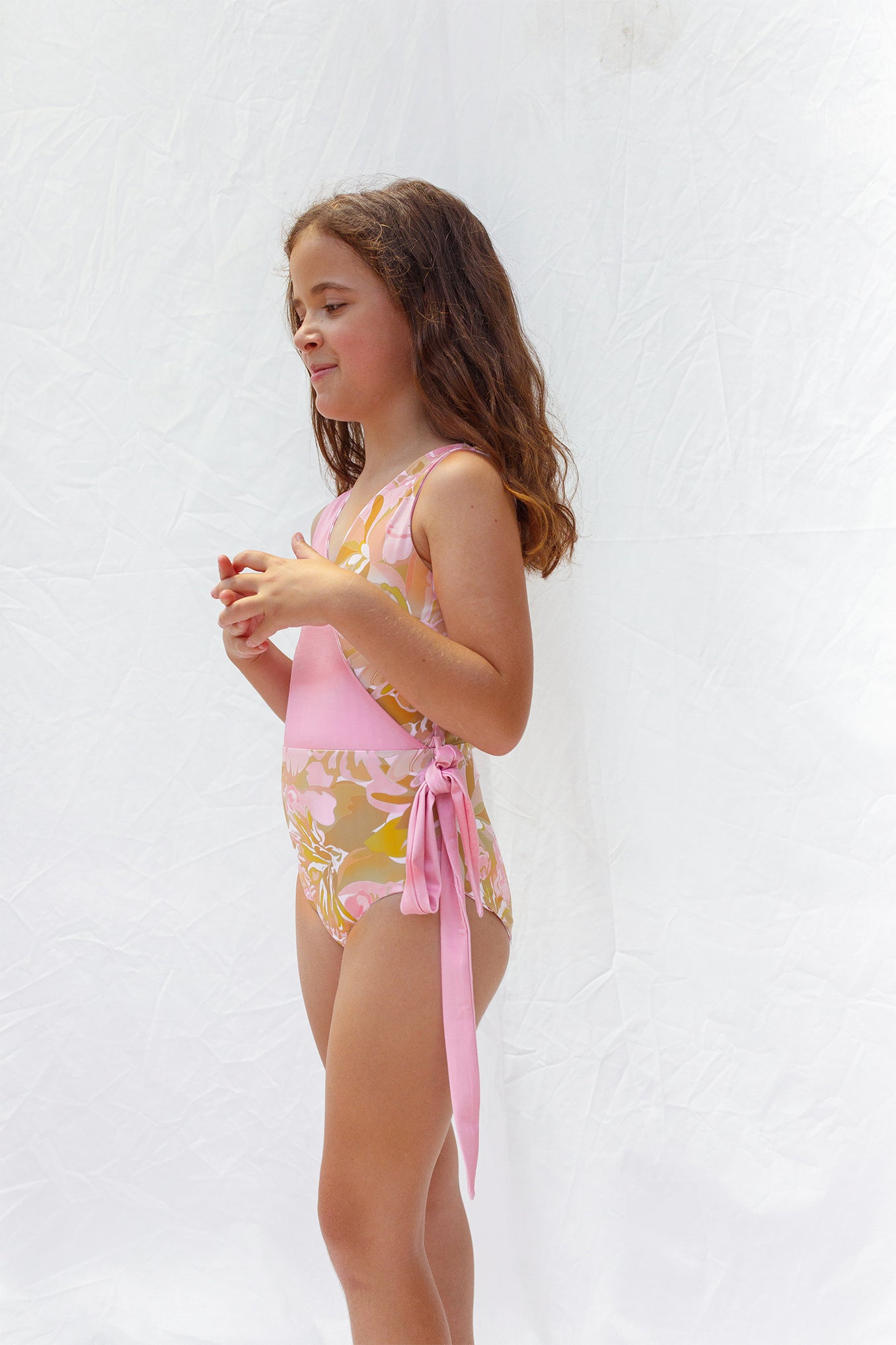 Girls swimsuit age 8