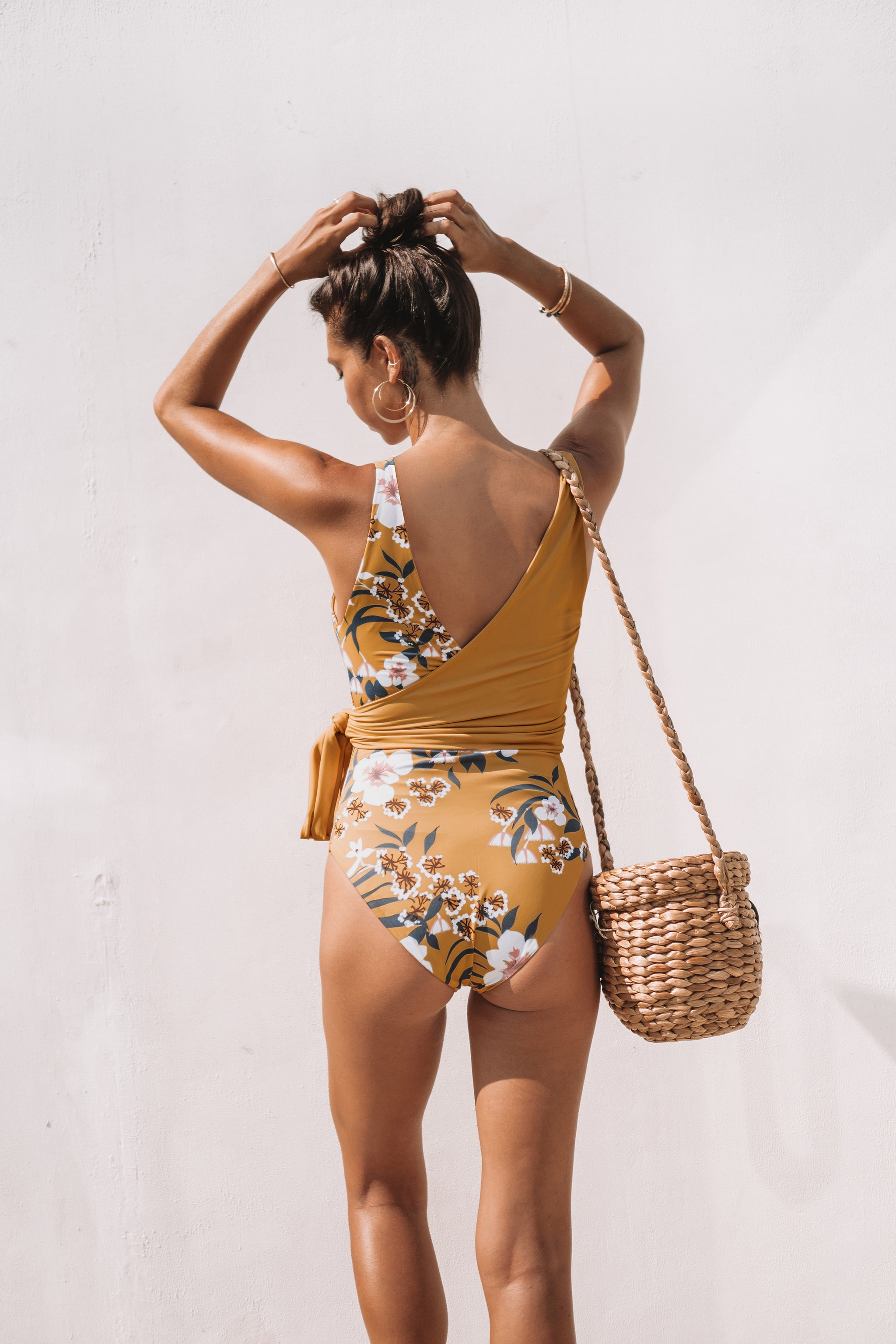 Mimosa Reversible Wrapsuit