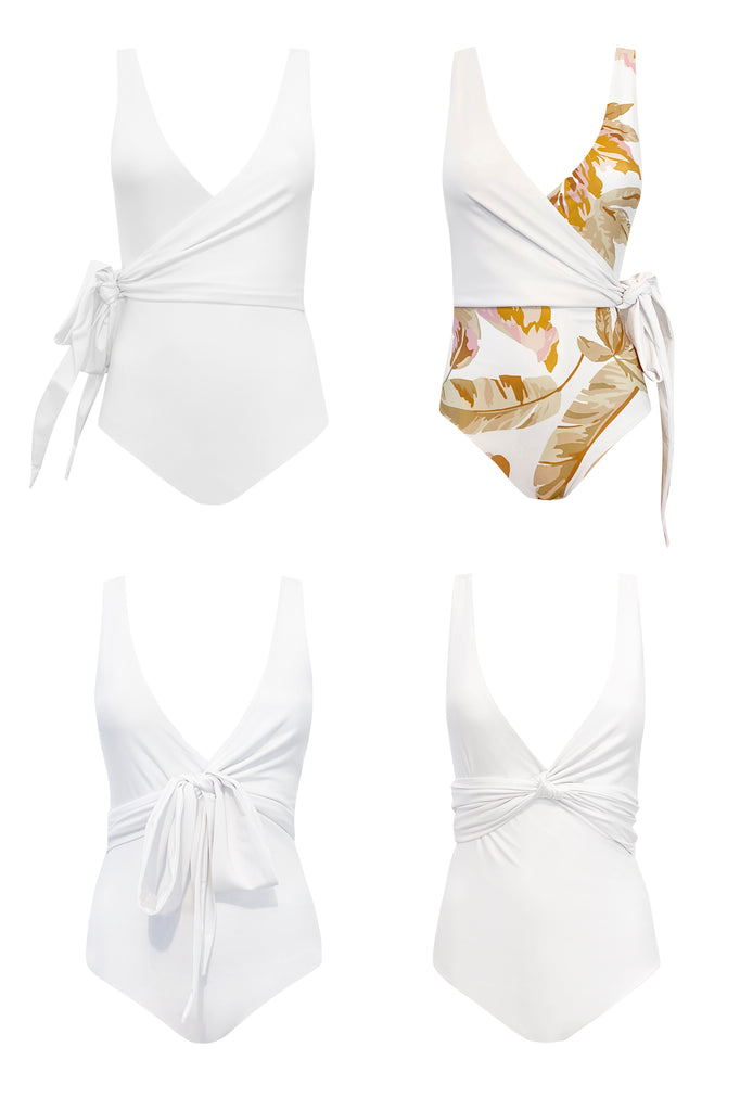 Bahamas Reversible Wrapsuit