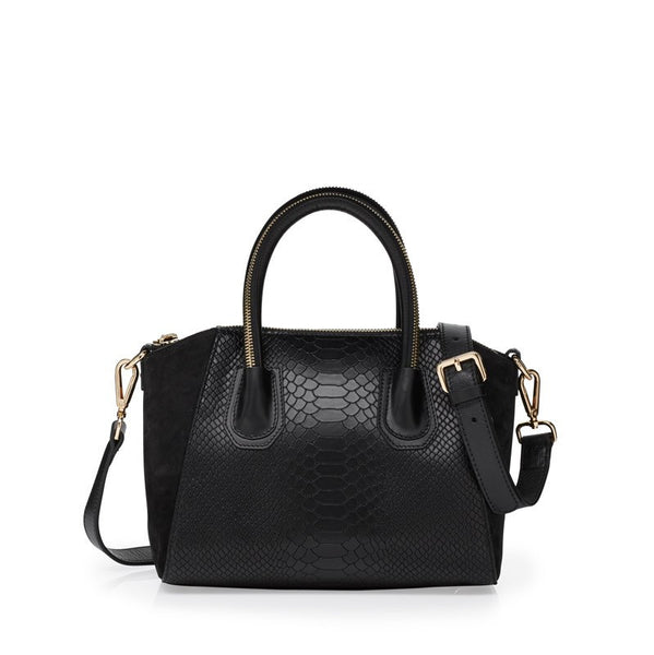 Viper black gold bag