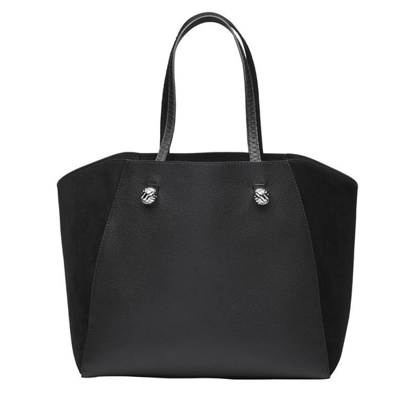 Massimo black silver bag