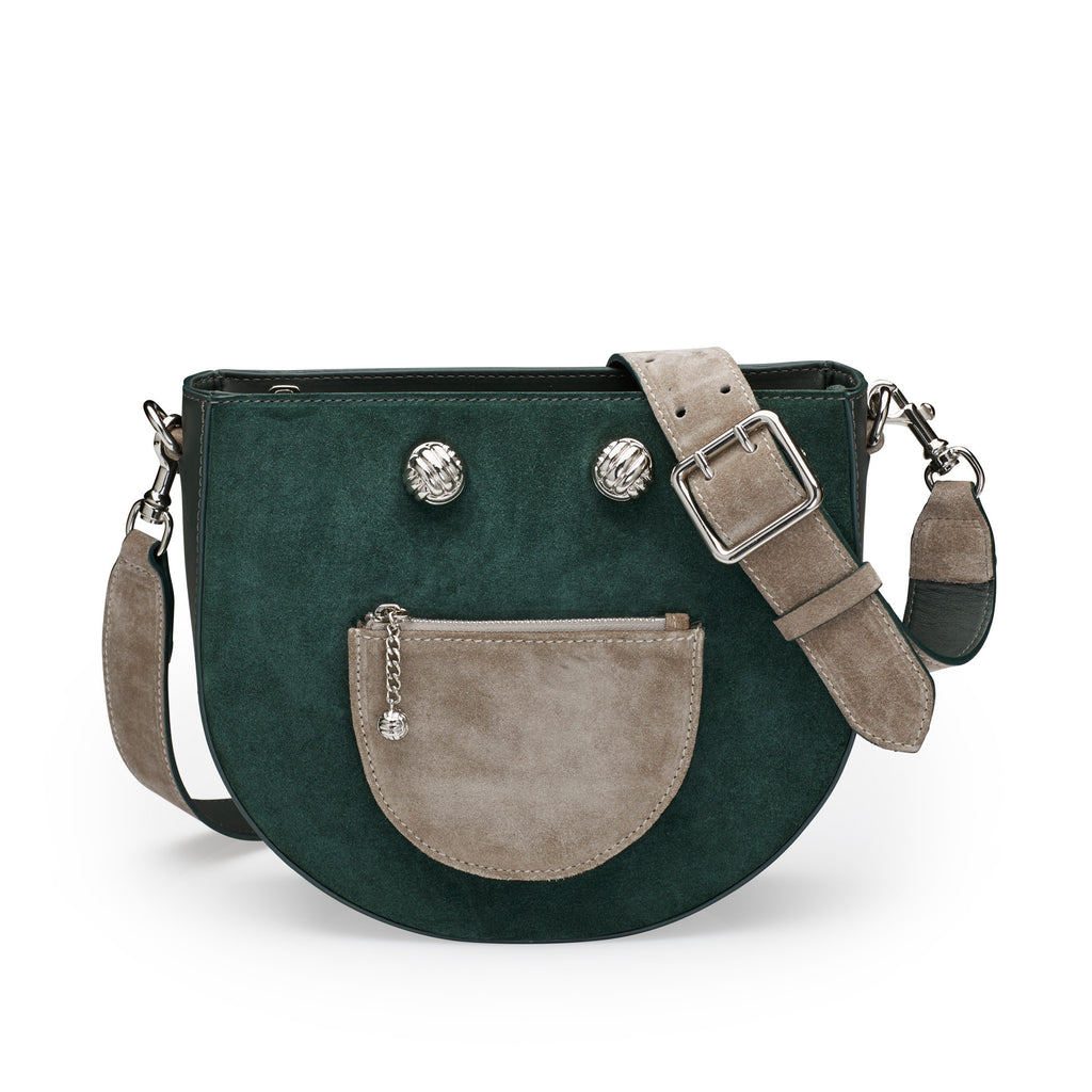 Happie green silver bag - Leowulff