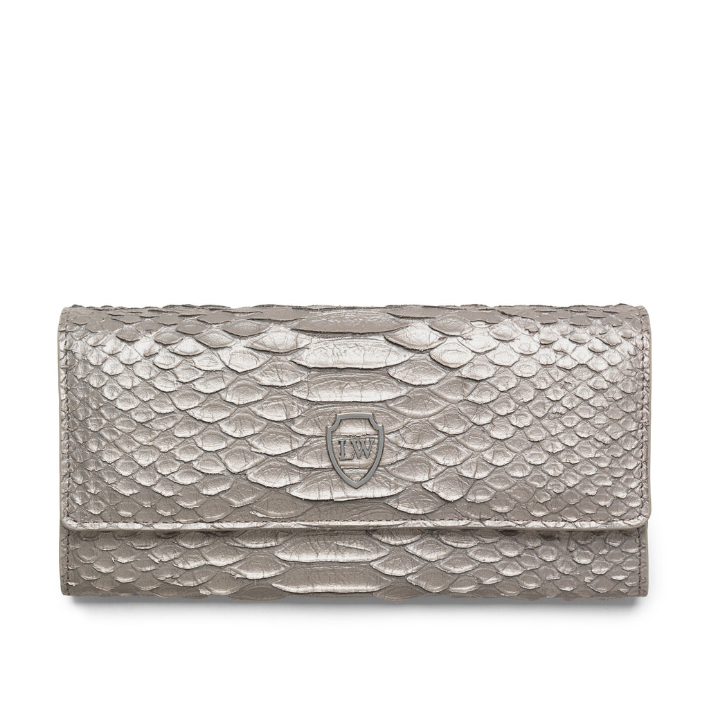 Bree anthracite wallet - Leowulff