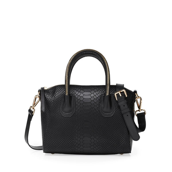 Boa black gold bag - Leowulff