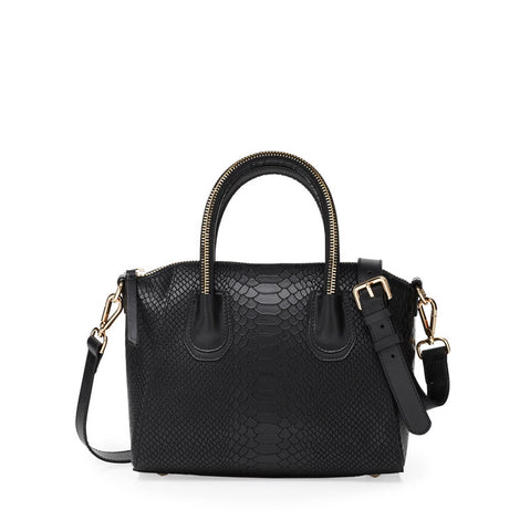 Boa black gold bag