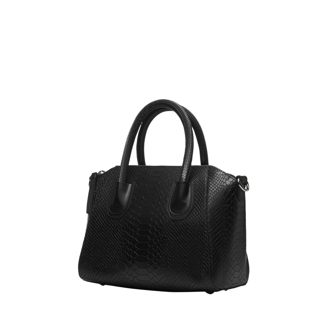 Boa black silver bag - Leowulff