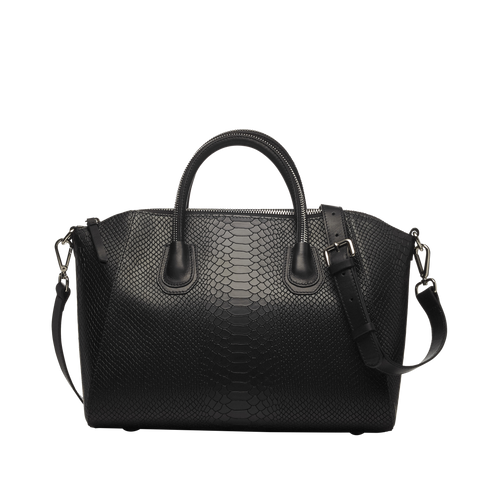ANACONDA BLACK SILVER BAG