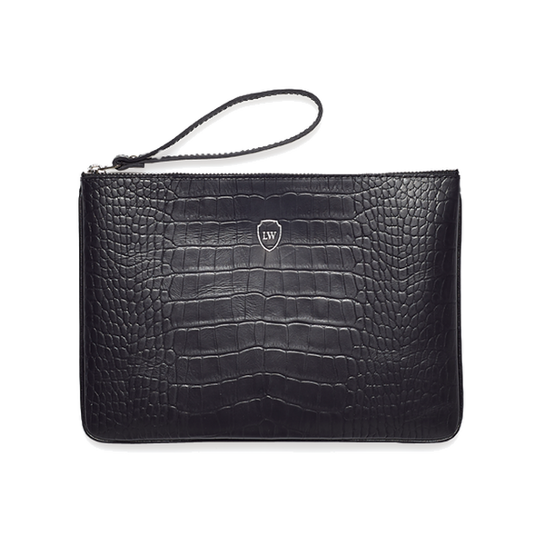 Baron black silver pocket