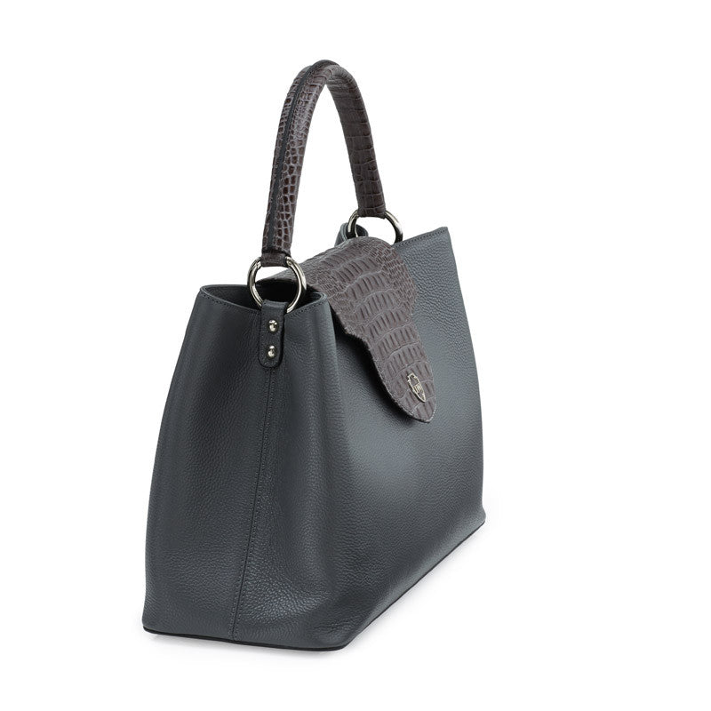 November grey silver bag - Leowulff