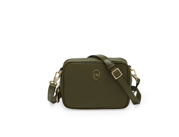 Nicole olive gold mini bag - Leowulff