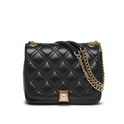 Daisy black gold bag