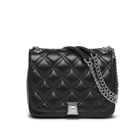 Daisy black silver bag
